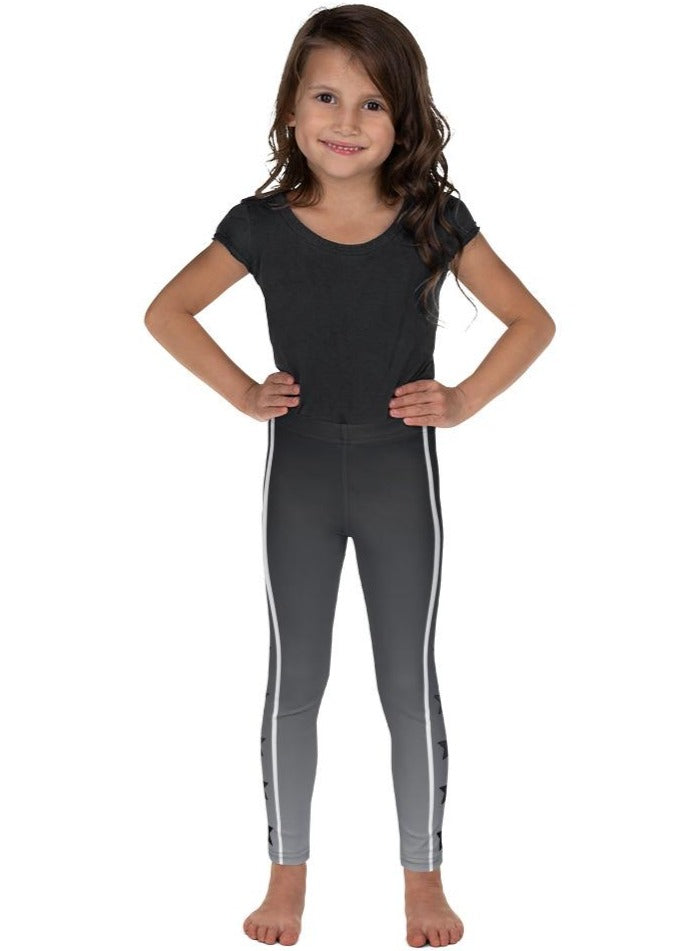 Gray Ombre Starbright Kid's Leggings