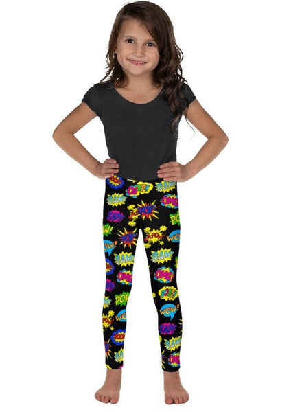 Pop Art Black Kid's Leggings