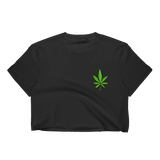 Small Weed Cropped T-Shirt