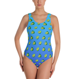 Avocado Blue Ombre One-Piece