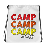 Camp Stuff x3 Drawstring Bag