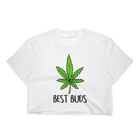 Best Buds T-Shirt Crop Top