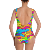 Rainbow Camo One-Piece