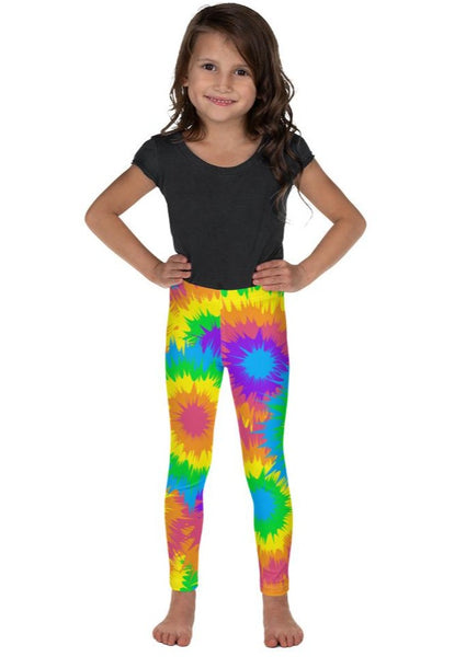 Tie Dye Kid's Leggings