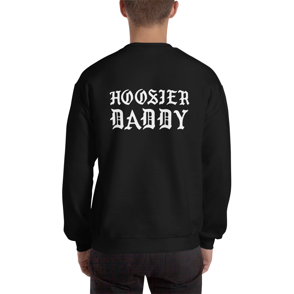 This Is IU / Hoosier Daddy Black Gildan Sweatshirt