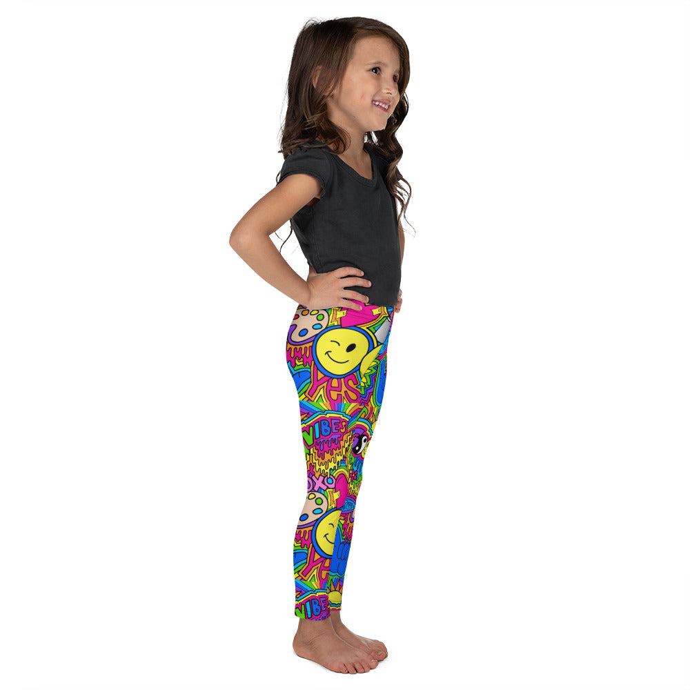 Good Vibes Hippie Kid's Leggings