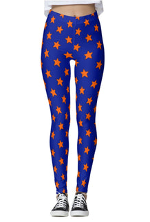 Orange & Blue All-Star Leggings