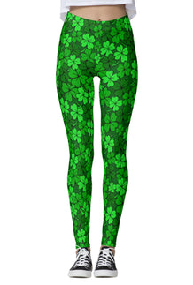Shamrock Clustered Leggings