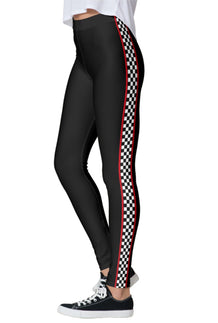 Black Trackside Leggings