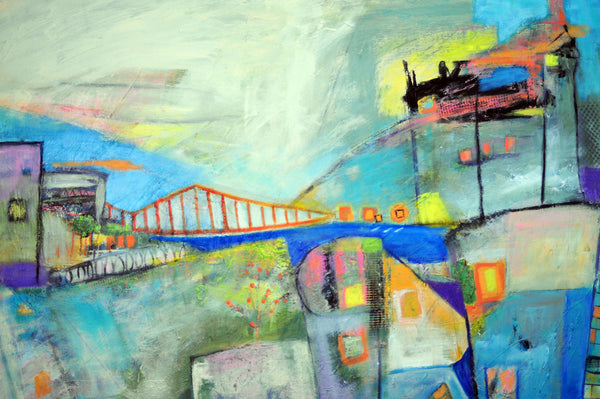 "Dream City - San Francisco - 36""x36"""