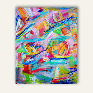 Kids Room Painting Abstract