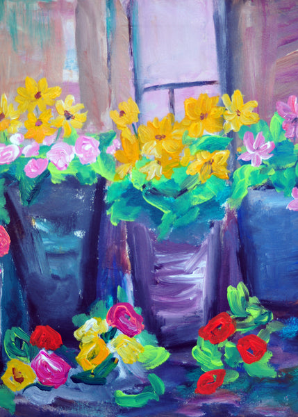 "Flower Shop - 18""HX24""W"
