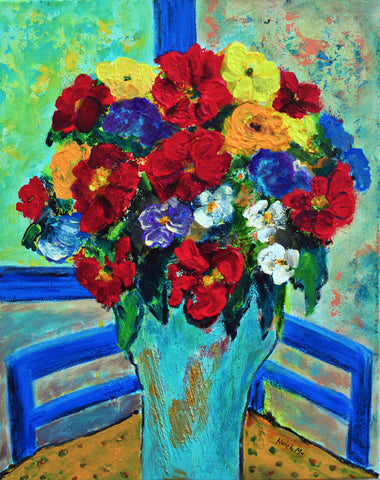 "Red Roses You Brought -20""HX16""W"