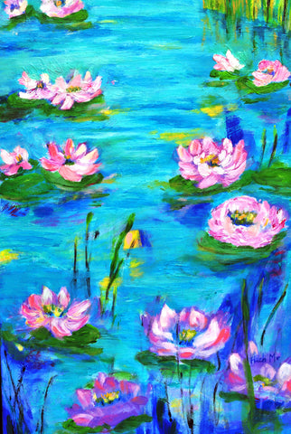 Morning Water Lilies