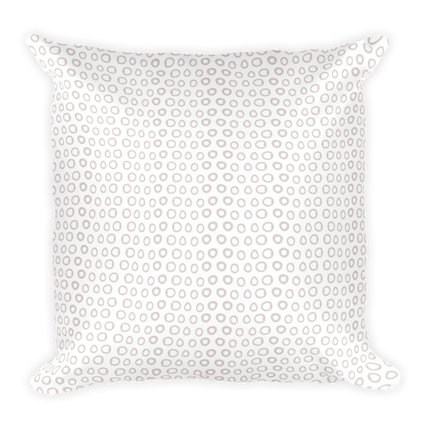 Blush O's Pillow