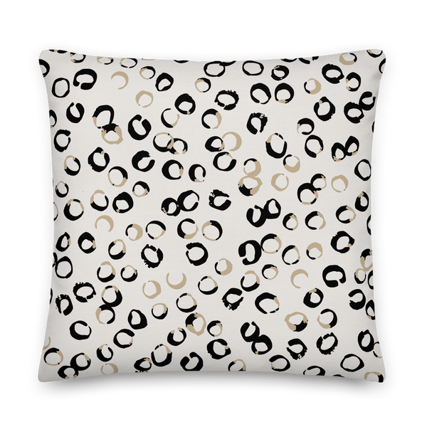 Eights & O's Pillow