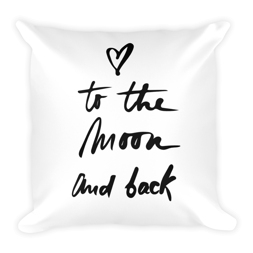 Moon & Back Pillow