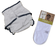 Fitted Diaper with Snaps & Absorber Bundle