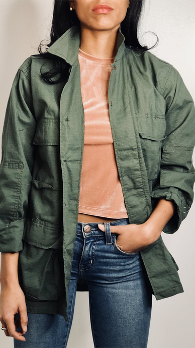 All I Need Cargo Jacket - ONFEMME By Lindsey's Kloset