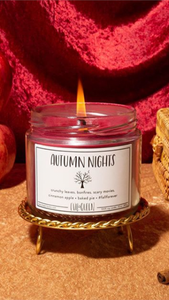 Autumn Nights Candle - Lindsey's Kloset