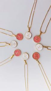 Baby Chanel Necklace - ONFEMME By Lindsey's Kloset