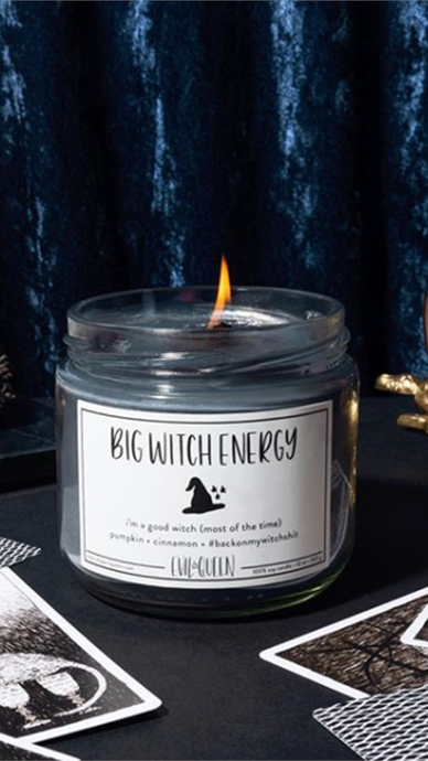 Big Witch Energy Candle - Lindsey's Kloset
