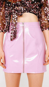 Billie Vinyl Mini Skirt - Lindsey's Kloset