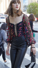 Load image into Gallery viewer, Blondie Embroidered Bodysuit - Lindsey's Kloset