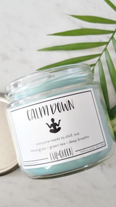 Calm Down Candle - Lindsey's Kloset