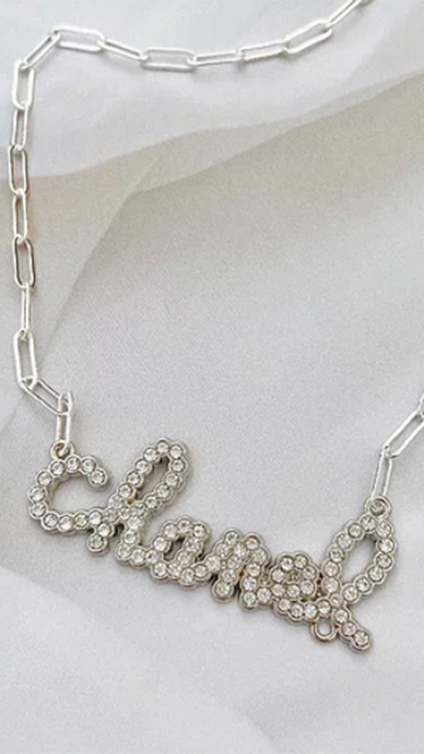 Spell It Out Chanel Necklace - Lindsey's Kloset