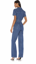Load image into Gallery viewer, Charlie Fashion Denim Jumpsuit - ONFEMME By Lindsey's Kloset