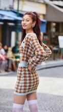 Load image into Gallery viewer, Cher Houndstooth Cardigan - Lindsey's Kloset