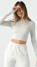 Load image into Gallery viewer, Cropped Crew Long Sleeve - ONFEMME By Lindsey's Kloset
