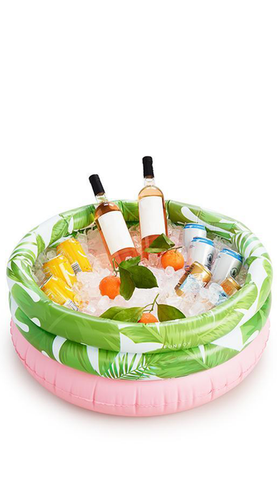 Tropical Palm Pool Drink Cooler - Lindsey's Kloset