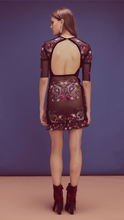Load image into Gallery viewer, Esther Embroidery Mini Dress - ONFEMME By Lindsey's Kloset