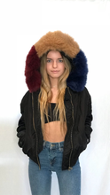 Load image into Gallery viewer, Faux Fur Bomber Jacket - Lindsey's Kloset