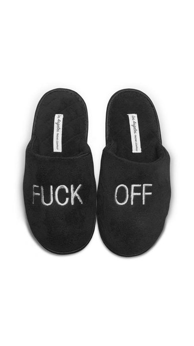 F Off Slippers - Lindsey's Kloset