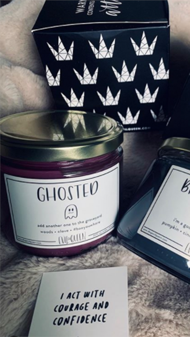 Ghosted Candle - Lindsey's Kloset