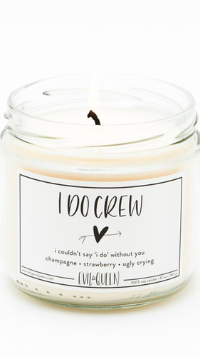I Do Crew Candle - ONFEMME By Lindsey's Kloset