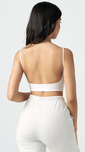 Low Back Crop Cami - Lindsey's Kloset