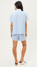 Load image into Gallery viewer, Lou Button Up Linen Top - ONFEMME By Lindsey's Kloset