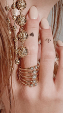 Load image into Gallery viewer, Moroccan Stud Statement Ring - ONFEMME By Lindsey's Kloset