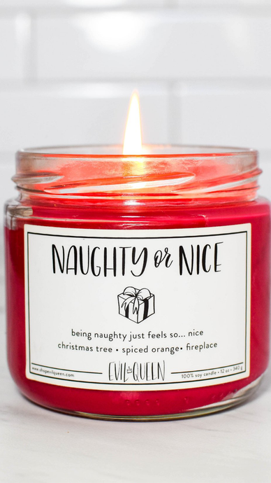 Naughty & Nice Candle - Lindsey's Kloset