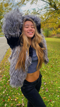 Load image into Gallery viewer, Ombre Faux Fur Coat - Lindsey's Kloset