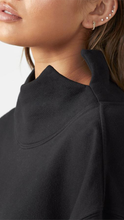 Load image into Gallery viewer, Oversized Turtleneck Sweatshirt - ONFEMME By Lindsey's Kloset