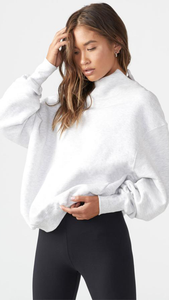 Oversized Turtleneck Sweatshirt - ONFEMME By Lindsey's Kloset