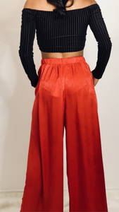 Show Stopper Palazzo Pants - Lindsey's Kloset