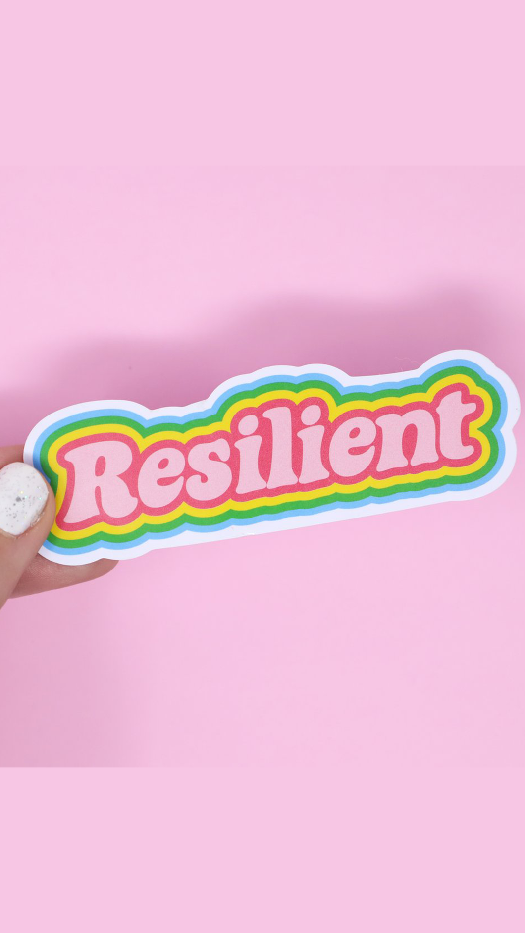 Resilient Sticker - Lindsey's Kloset
