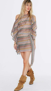 Labrynth Scarf Dress - ONFEMME By Lindsey's Kloset