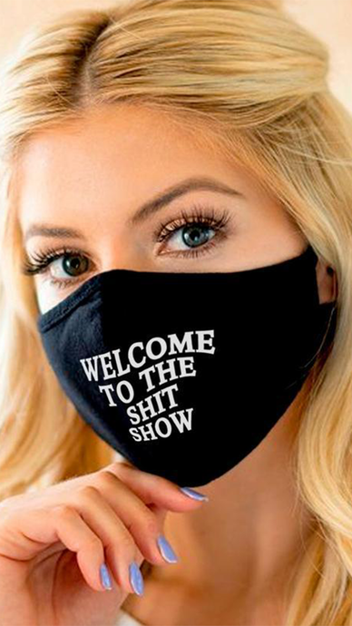 Shit Show Face Mask - Lindsey's Kloset